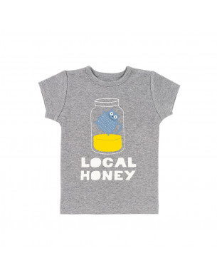 T-shirt chiné local honey