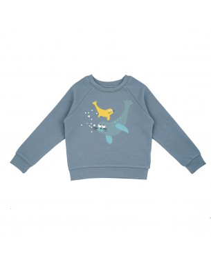 Short denim La Queue du Chat vêtement enfant bébé coton bio