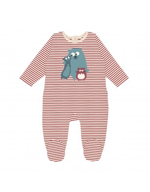Coral Legging La Queue du Chat clothes children baby organic cotton