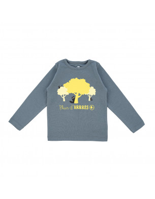 The Kaki Sweatshirt La Queue du Chat clothes children baby organic cotton